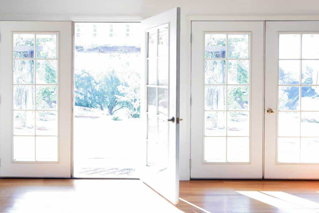 standard size for french doors