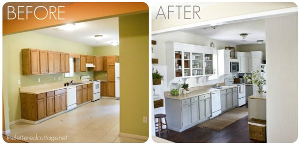 Kitchen Remodels Before And After - Remodelled kitchens before and after
