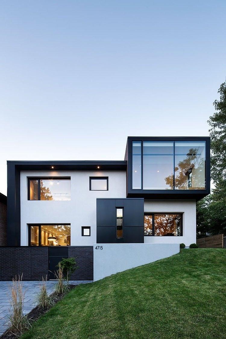 Architectural Tour - Modern Minimalist House - Home Decor ...