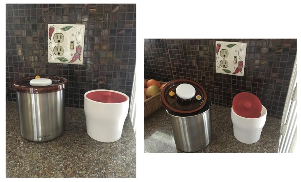 Osaka Jar, Self-Sealing Airtight Storage