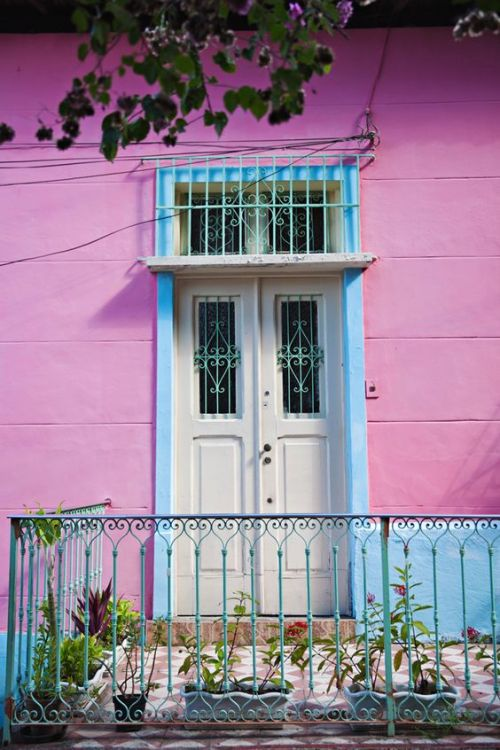 Colorful homes in Brazil