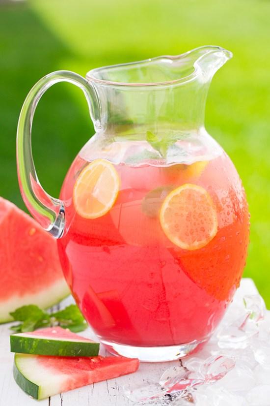 Infused Strawberry Lemonade