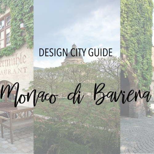 monaco di baviera design city guide