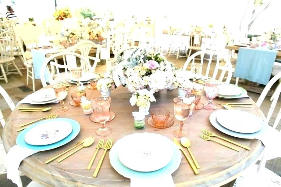 rustic table setting ideas