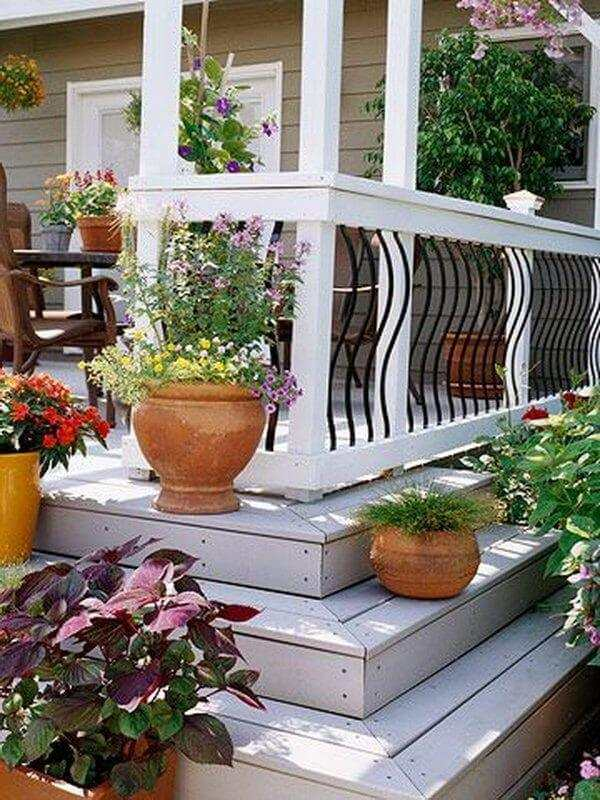 deck railing ideas pinterest