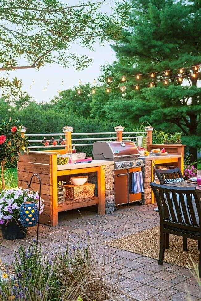 outdoor kitchen patio ideas