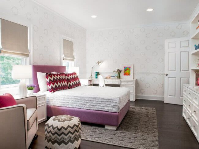 decorate teen girls bedroom