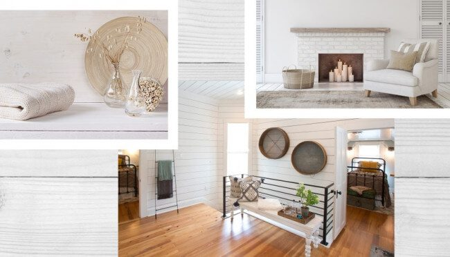 contemporary farmhouse interior