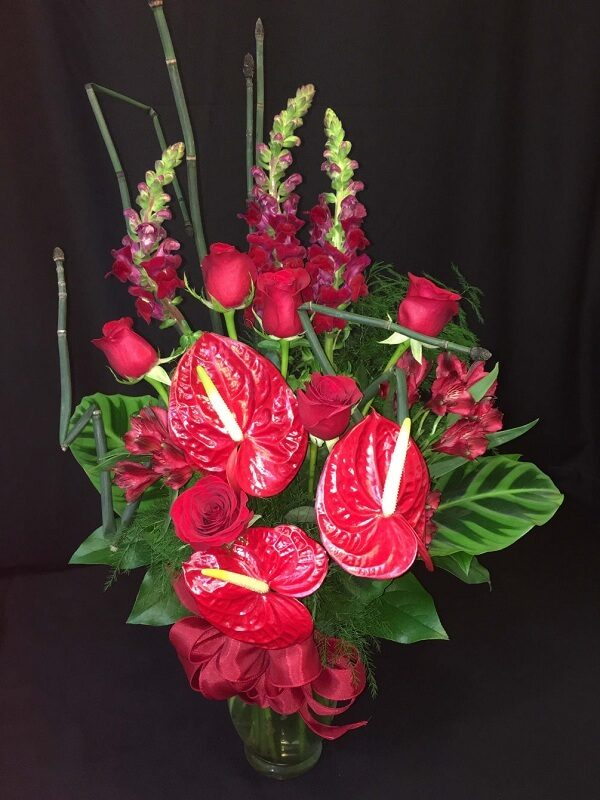 artificial tropical flowers