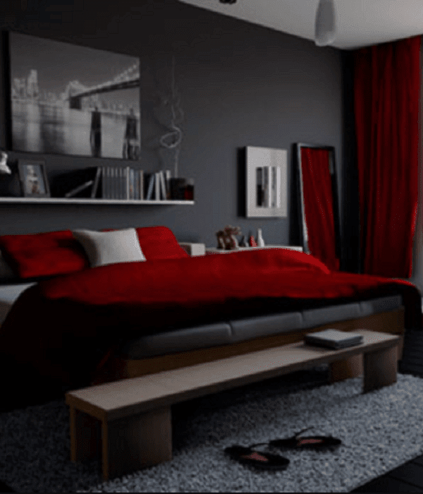 male bedroom color schemes