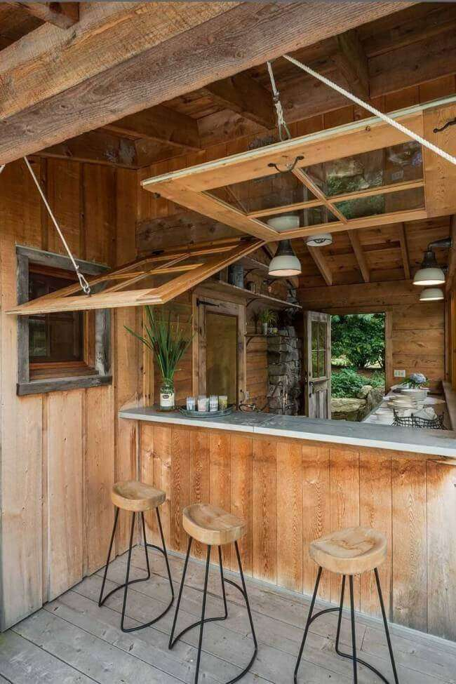 outdoor kitchen countertop ideas