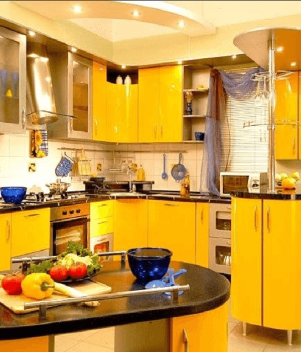 All Different Shade of Yellow Color Paint Ideas