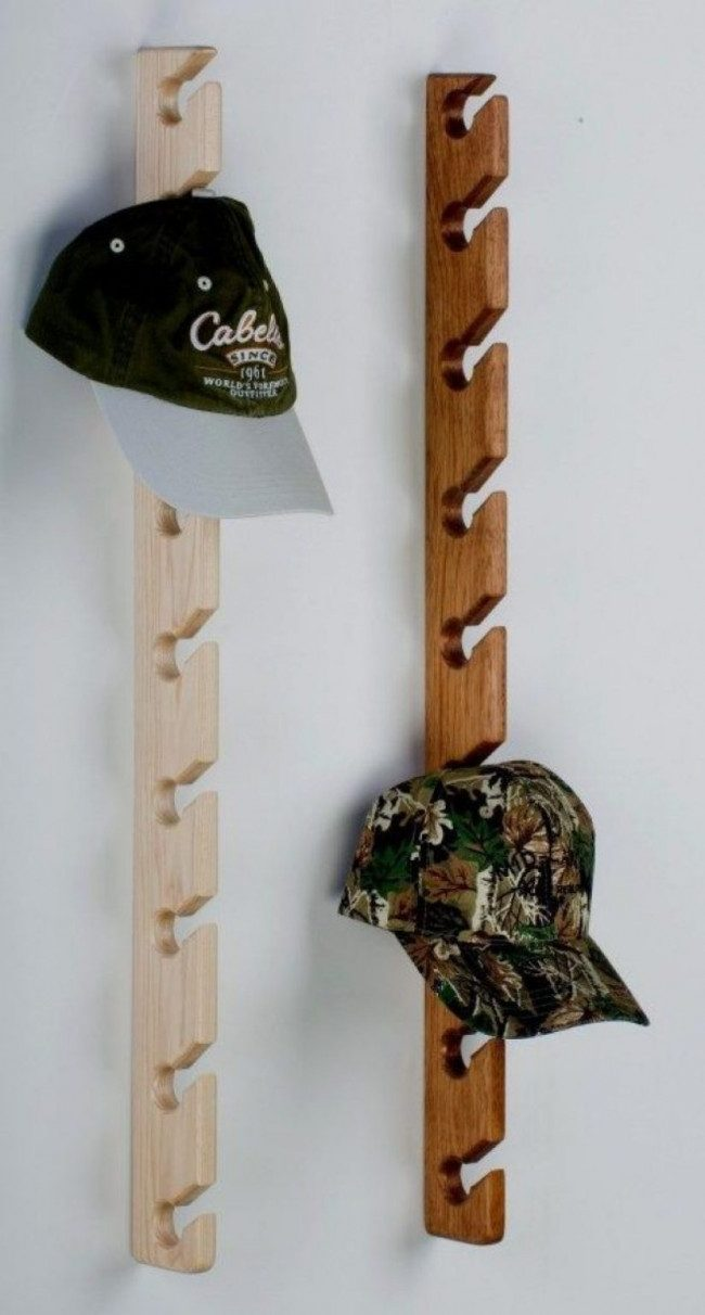 hat rack ideas diy