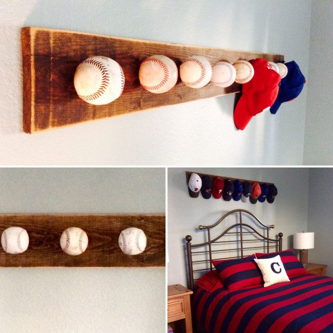 hat rack ideas simple