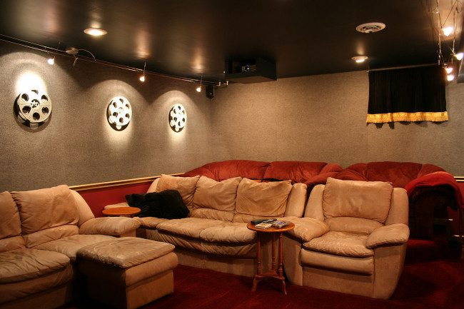 bedroom media room ideas