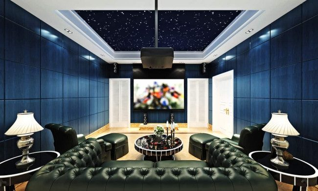 media room ideas on a budget