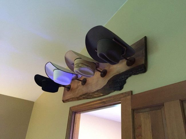 hat hanger ideas diy
