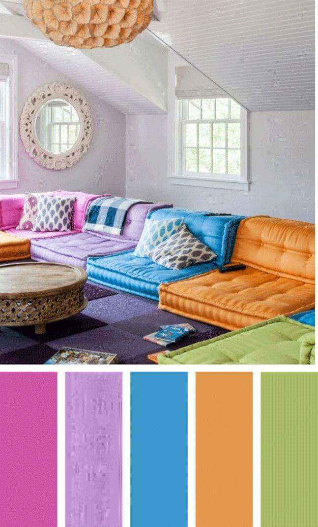 modern living room color schemes
