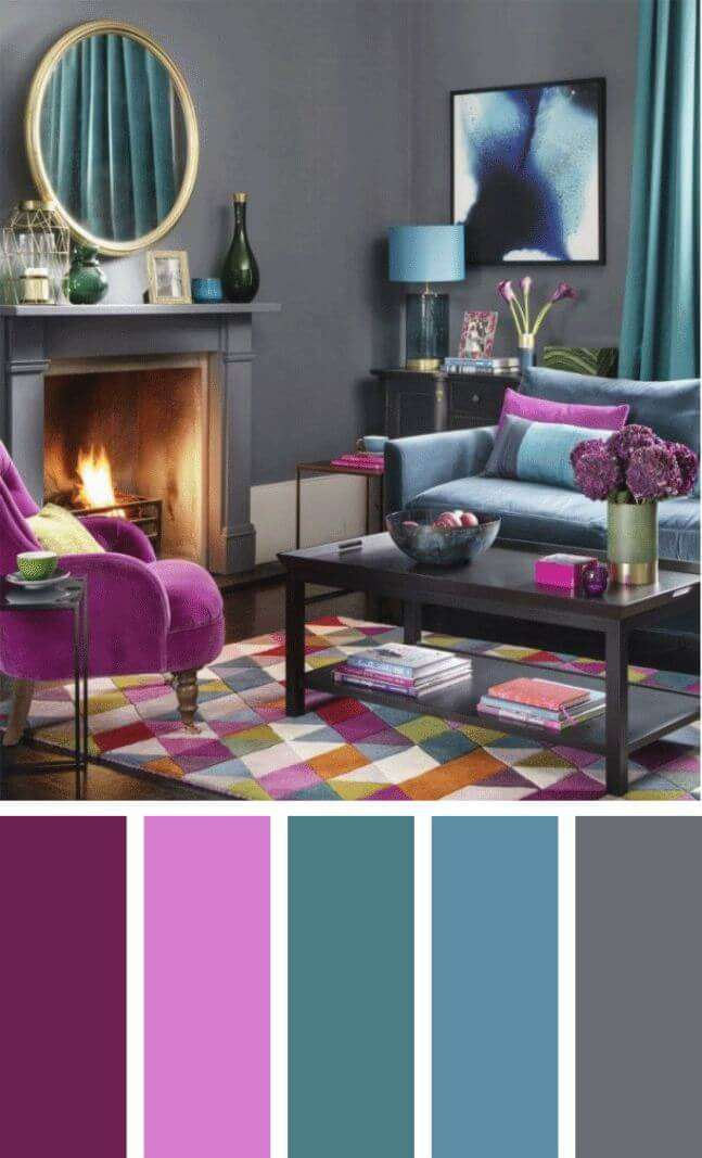 burgundy living room color schemes