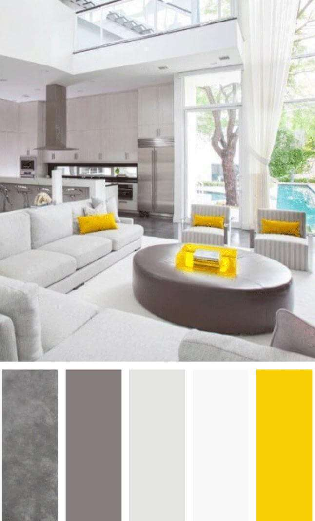 color schemes for living room with tan furniture