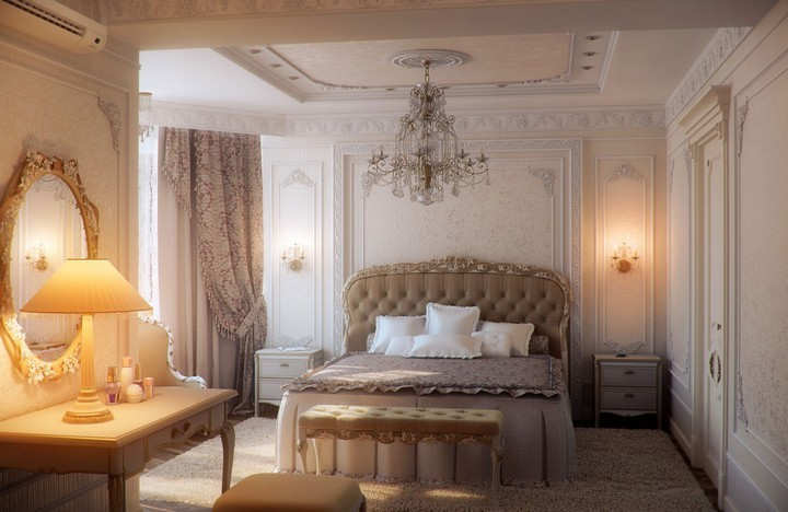 Amazing Romantic Bedrooms Decorating Ideas