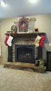 Inspiring Rustic Christmas Fireplace Ideas To Makes Your Home Warmer 53