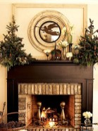Inspiring Rustic Christmas Fireplace Ideas To Makes Your Home Warmer 54