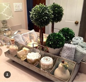 Inspiring Winter Bathroom Decor Ideas You Will Totally Love 06