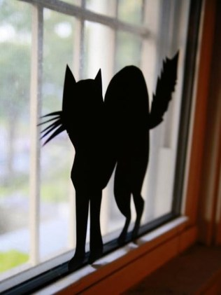Scary But Creative DIY Halloween Window Decorations Ideas You Should Try 05