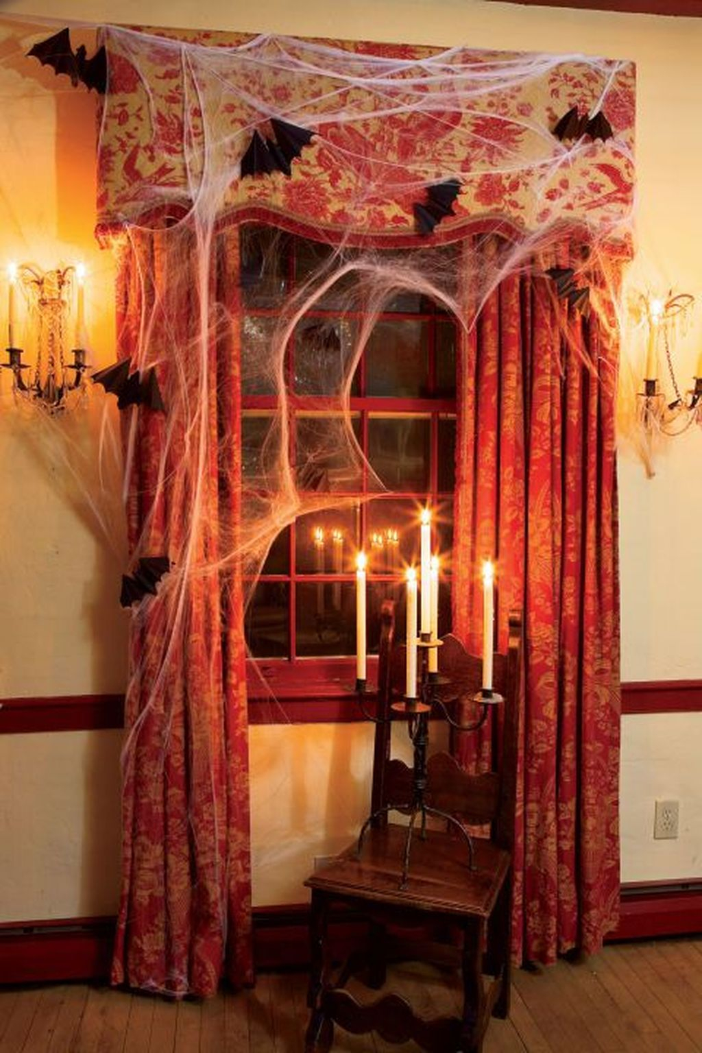 Scary But Creative DIY Halloween Window Decorations Ideas You Should Try 16