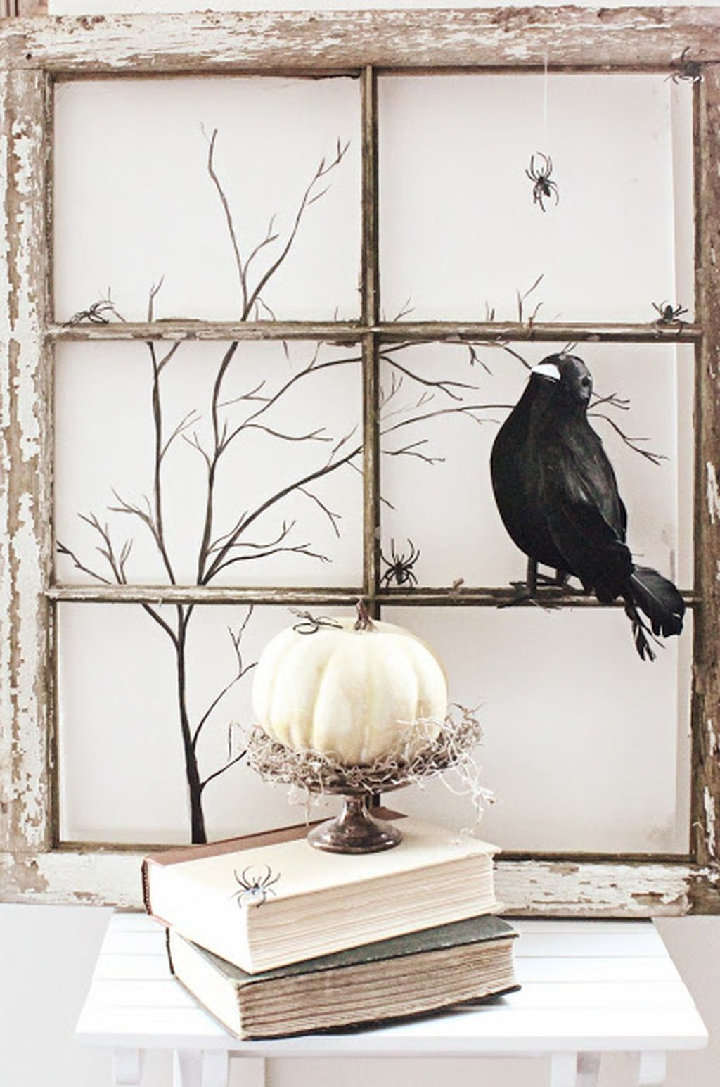 Scary But Creative DIY Halloween Window Decorations Ideas You Should Try 23