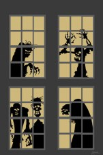Scary But Creative DIY Halloween Window Decorations Ideas You Should Try 27