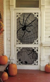 Scary But Creative DIY Halloween Window Decorations Ideas You Should Try 39