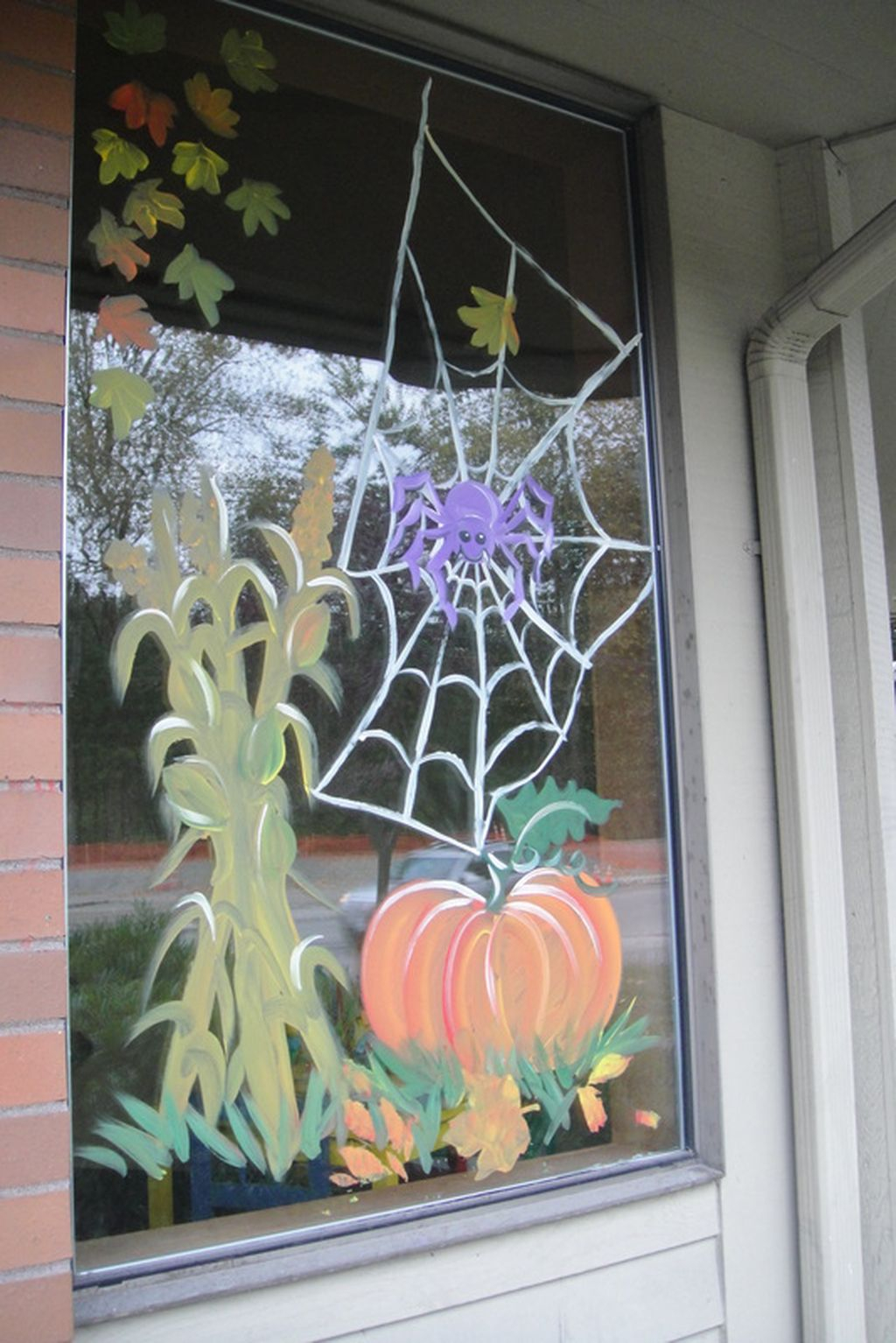 Scary But Creative DIY Halloween Window Decorations Ideas You Should Try 47