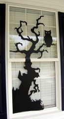 Scary But Creative DIY Halloween Window Decorations Ideas You Should Try 57