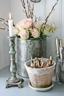 Adorable Modern Shabby Chic Home Decoratin Ideas 24
