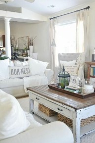 Adorable Modern Shabby Chic Home Decoratin Ideas 35