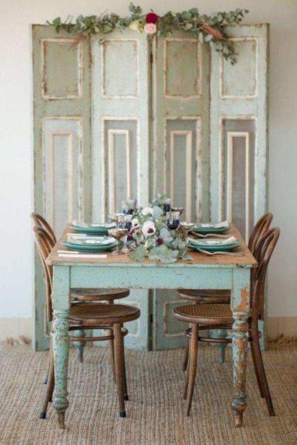 Adorable Modern Shabby Chic Home Decoratin Ideas 44