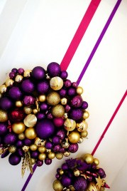 Adorable Pink And Purple Christmas Decoration Ideas 42