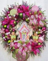 Adorable Pink And Purple Christmas Decoration Ideas 46