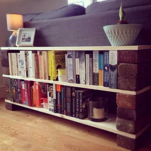 Brilliant Bookshelf Design Ideas For Small Space You Will Love 14