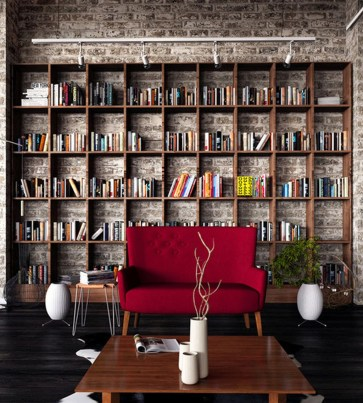 Brilliant Bookshelf Design Ideas For Small Space You Will Love 36