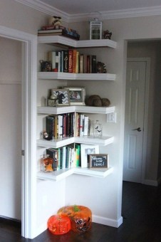 Brilliant Bookshelf Design Ideas For Small Space You Will Love 50