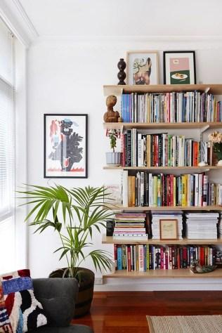 Brilliant Bookshelf Design Ideas For Small Space You Will Love 54