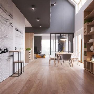 Cozy Scandinavian Interior Design Ideas For Your Apartment 07