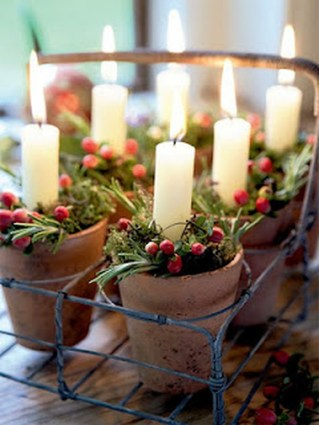 Creative DIY Christmas Candle Holders Ideas To Makes Your Room More Cheerful 10