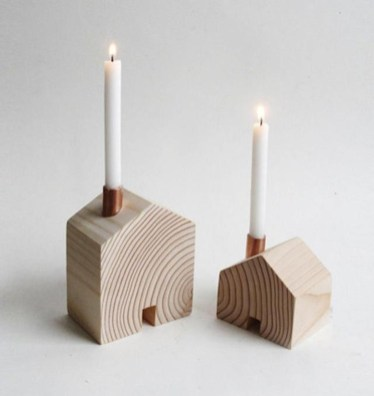 Creative DIY Christmas Candle Holders Ideas To Makes Your Room More Cheerful 13