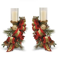 Creative DIY Christmas Candle Holders Ideas To Makes Your Room More Cheerful 24