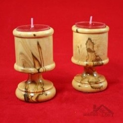 Creative DIY Christmas Candle Holders Ideas To Makes Your Room More Cheerful 28