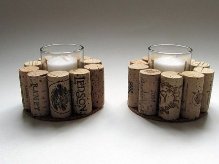 Creative DIY Christmas Candle Holders Ideas To Makes Your Room More Cheerful 43